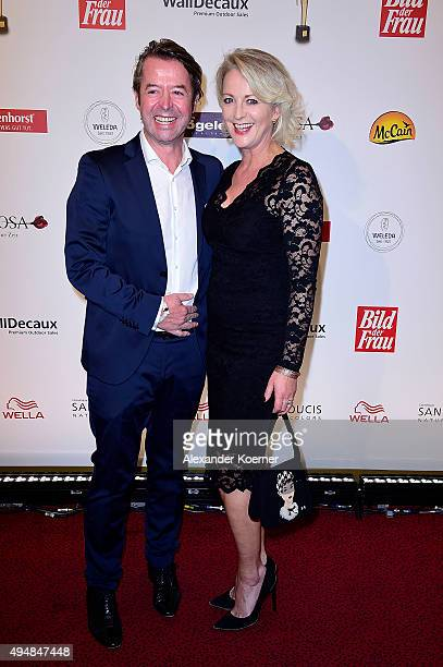 Peter Fissenewert and Ulla Kock am Brink attend the 'Goldene Bild Der Frau' Award 2015 at Stage Operettenhaus on October 29 2015 in Hamburg Germany