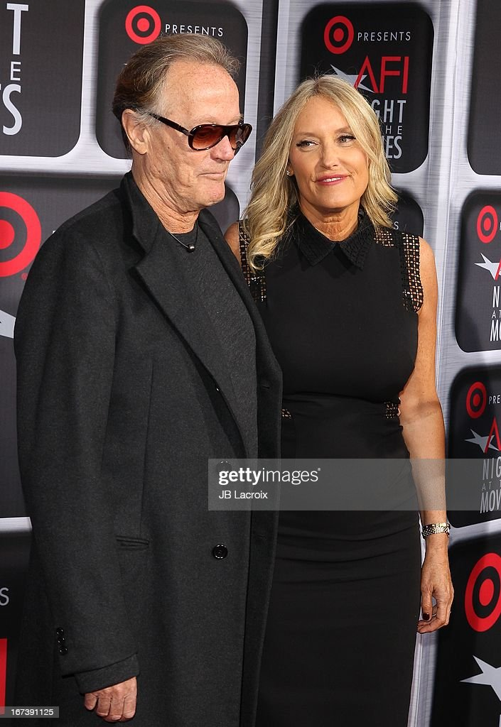 Peter Fonda attends the AFI Night At The Movies presented by Target held at ArcLight Hollywood on April 24, 2013 in Hollywood, California.