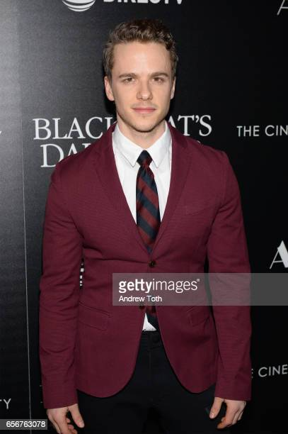 Peter Forde attends a screening of 'The Blackcoat's Daughter' hosted by A24 and DirecTV with The Cinema Society at Landmark Sunshine Cinema on March...
