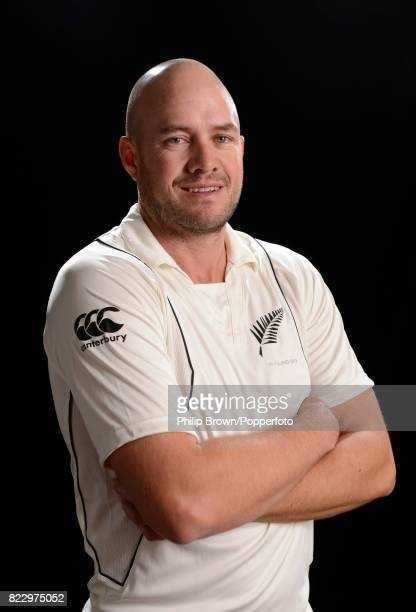 Peter Fulton of New Zealand poses for the camera during the New Zealand Cricket Headshots photo session before the Test series against England at...