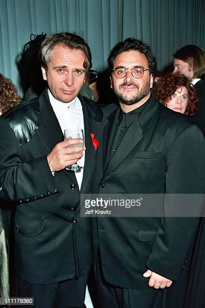 Peter Gabriel and Al Cafaro during Grammy's AM Records' Party at AM Records in Los Angeles CA United States