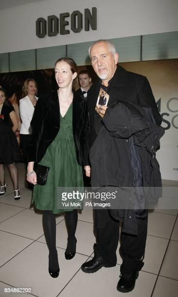 Peter Gabriel arrives for the World premiere of 'Quantum Of Solace' at the Odeon Leicester Square WC2