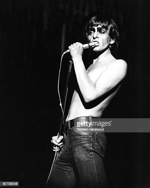 Peter Gabriel from Genesis performs live in Rotterdam Holland on April 11 1975 date of The Lamb lies down on Broadway concert tour