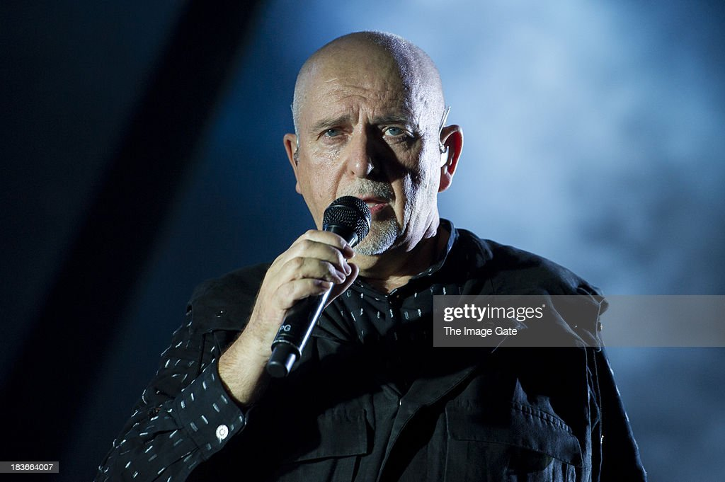 Peter Gabriel Performs In Geneva
