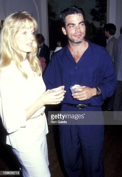 Peter Gallagher and wife Paula Harwood during 'Good Morning Babylon' New York City Premiere After Party at Italian Cultural Institute in New York...