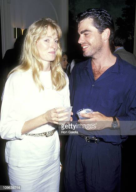 peter gallagher amp wife stock photos and pictures getty