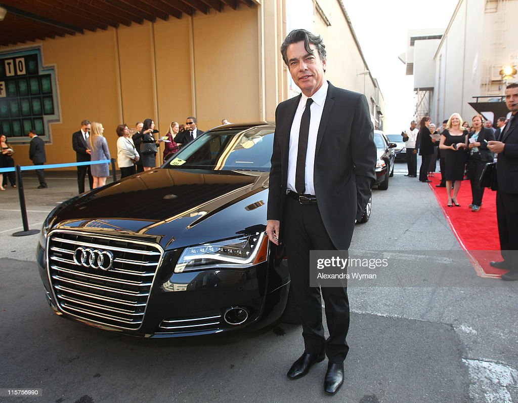 Peter Gallagher at The Audi Arrivals held at The 39th AFI Life Achievement Award Honoring Morgan Freeman at Sony Pictures Studios on June 9 2011 in...
