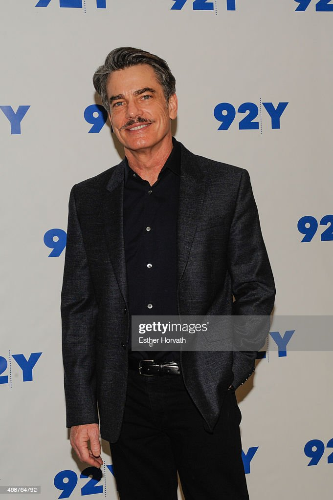 Peter Gallagher attends 92nd Street Y Presents Back on Broadway Kristin Chenoweth And Peter Gallagher at 92nd Street Y on April 6 2015 in New York...