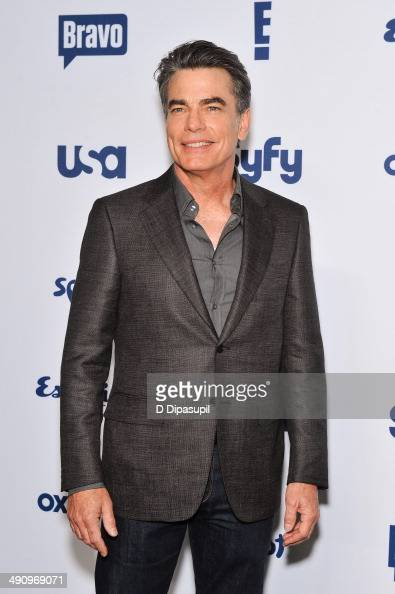 Peter Gallagher attends the 2014 NBCUniversal Cable Entertainment Upfronts at The Jacob K Javits Convention Center on May 15 2014 in New York City