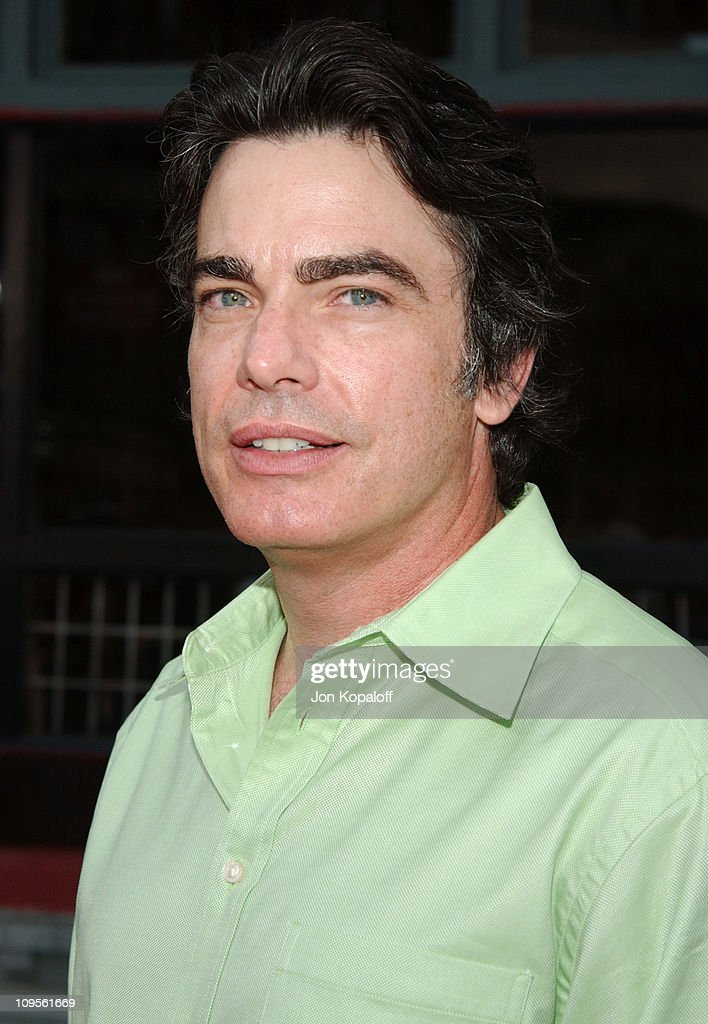 Peter Gallagher during 2004 Fox AllStar Party at 20th Century Fox Studios in Los Angeles California United States