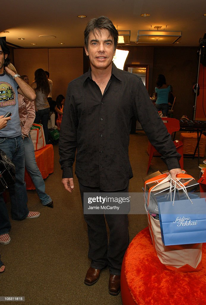 Peter Gallagher during The Lucky/Cargo Club An Upfront Week Hospitality Suite Day 3 at Le Parker Meridien in New York City New York United States