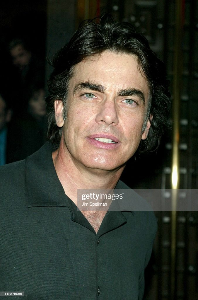 Peter Gallagher during 'The Sopranos' 4th Season - Premiere at Radio City Music Hall in New York City, New York, United States.