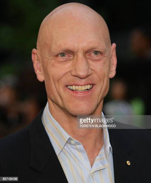 Peter Garrett Australian Minister for the Environment Heritage and the Arts and former frontman for the rock group 'Midnight Oil' arrives for world...