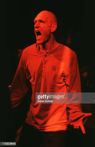 Peter Garrett of Midnight Oil during Midnight Oil in Concert at Wetlands 1993 at Wetlands in New York City New York United States