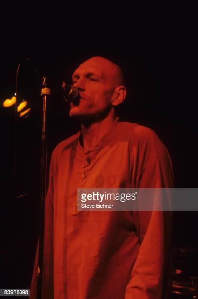 Peter Garrett of Midnight Oil performing at Wetlands 1993 New York