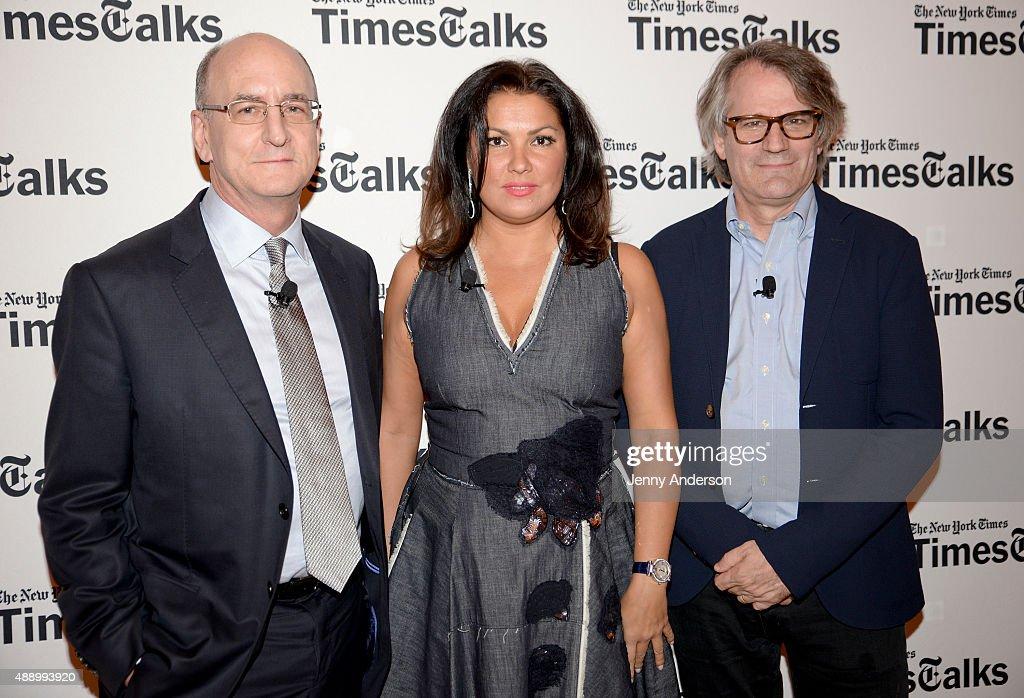 TimesTalks Presents: Anna Netrebko, Bartlett Sher and Peter Gelb
