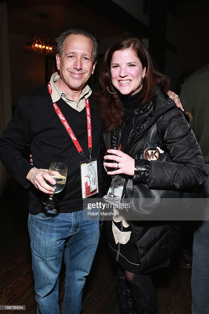 Peter Golub and Elizabeth Daly attend the Time Warner Reception at Riverhorse Cafe during the 2013 Sundance Film Festival on January 19, 2013 in Park City, Utah.