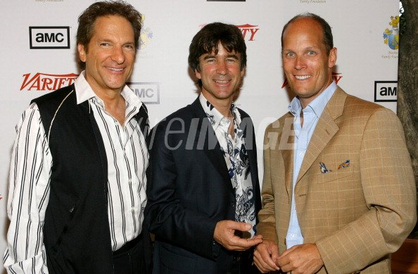 Peter Guber Chairman of Mandalay Pictures Ulrich Schmid Maybach and