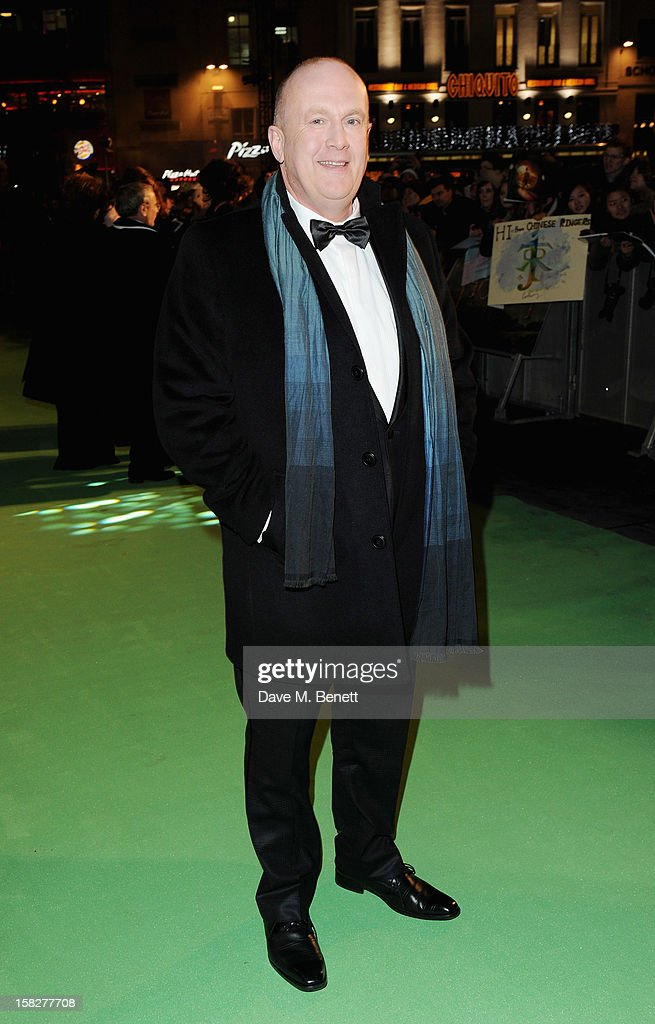 Peter Hambleton attends the Royal Film Performance of 'The Hobbit: An Unexpected Journey' at Odeon Leicester Square on December 12, 2012 in London, England.