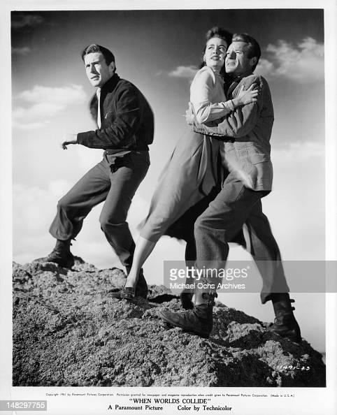 Barbara Rush And Richard Derr In When Worlds Collide