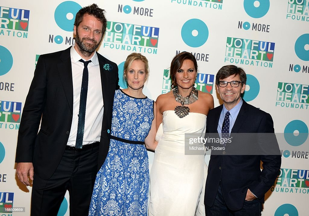 Peter Hermann, Ali Wentworth, <a gi-track='captionPersonalityLinkClicked' href=/galleries/search?phrase=Mariska+Hargitay&family=editorial&specificpeople=204727 ng-click='$event.stopPropagation()'>Mariska Hargitay</a> and <a gi-track='captionPersonalityLinkClicked' href=/galleries/search?phrase=George+Stephanopoulos&family=editorial&specificpeople=206404 ng-click='$event.stopPropagation()'>George Stephanopoulos</a> attend the 2013 Joyful Heart Foundation gala at Cipriani 42nd Street on May 9, 2013 in New York City.