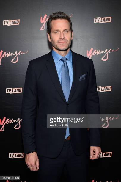 Peter Hermann attends the 'Younger' season four premiere party on June 27 2017 in New York City