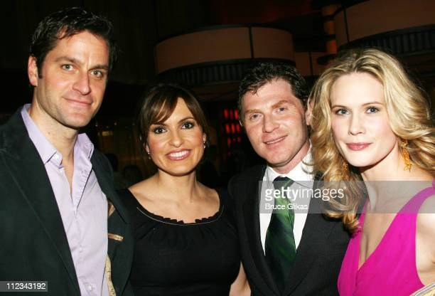 Peter Hermann Mariska Hargitay Bobby Flay and Stephanie March