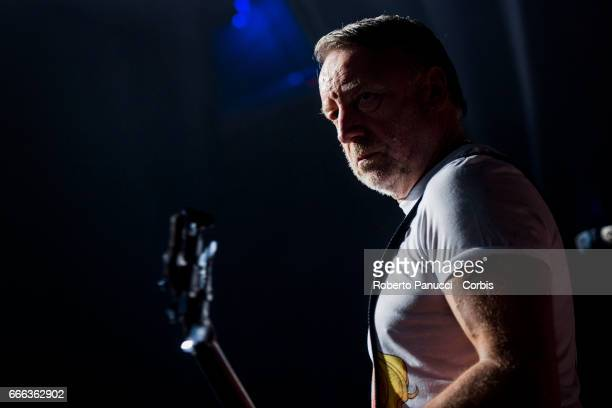 Peter Hook and his group The Light perform in concert at Theater Quirinetta on april 07 2017 in Rome Italy