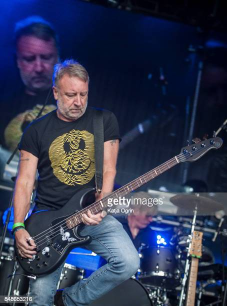 Peter Hook and The Light performing on stage at Beyond The Tracks Festival on September 17 2017 in Birmingham England