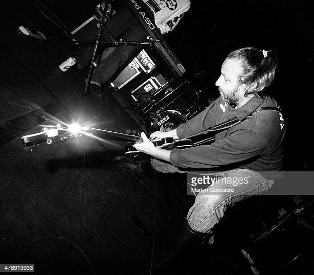 Peter Hook performs on stage during a tour with his band Revenge United Kingdom 1990