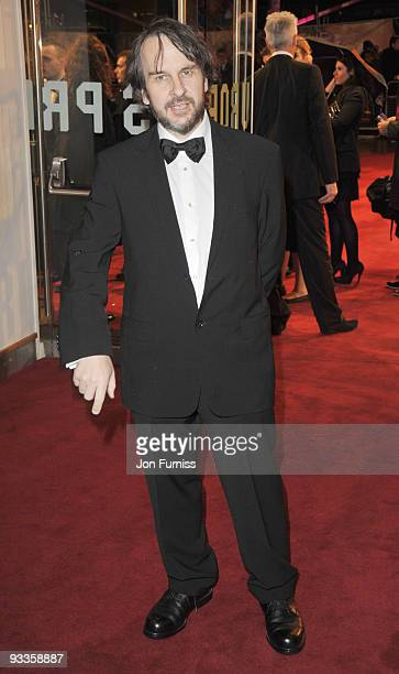 Peter Jackson attends the Cinema Television Benevolent Fund Royal Film Performance 2009 The Lovely Bones at Odeon Leicester Square on November 24...