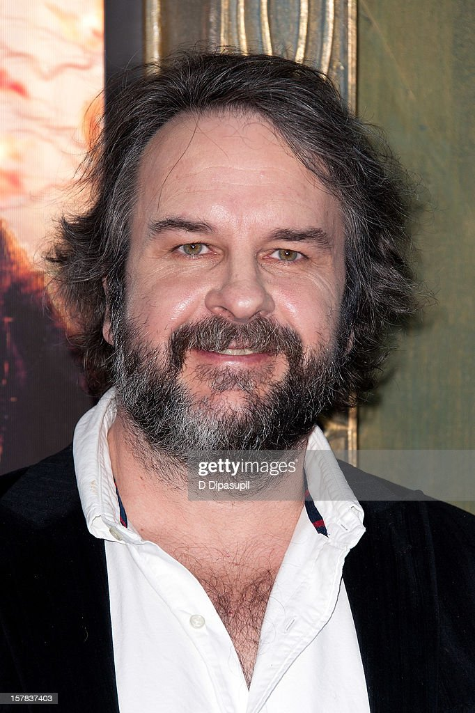 Peter Jackson attends 'The Hobbit: Unexpected Journey' premiere at the Ziegfeld Theater on December 6, 2012 in New York City.