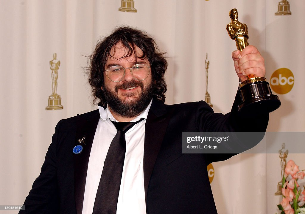 Peter Jackson, winner of Best Director for 'The Lord of the Rings: The Return of the King'