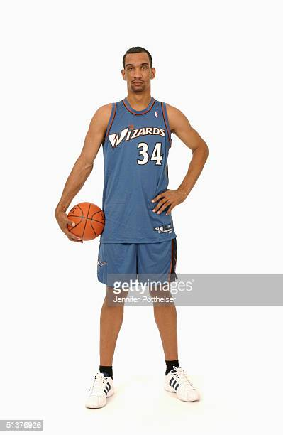 Peter John Ramos of the Washington Wizards poses during the photo shoot on September 17 2004 in Palisades New Jersey NOTE TO USER User expressly...