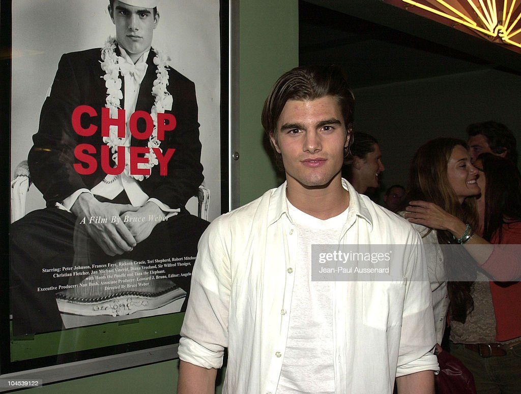 Peter Johnson during Screening of 'Chop Suey' Directed by Bruce Weber at Laemmle Fairfax Theatre in Los Angeles, California, United States.