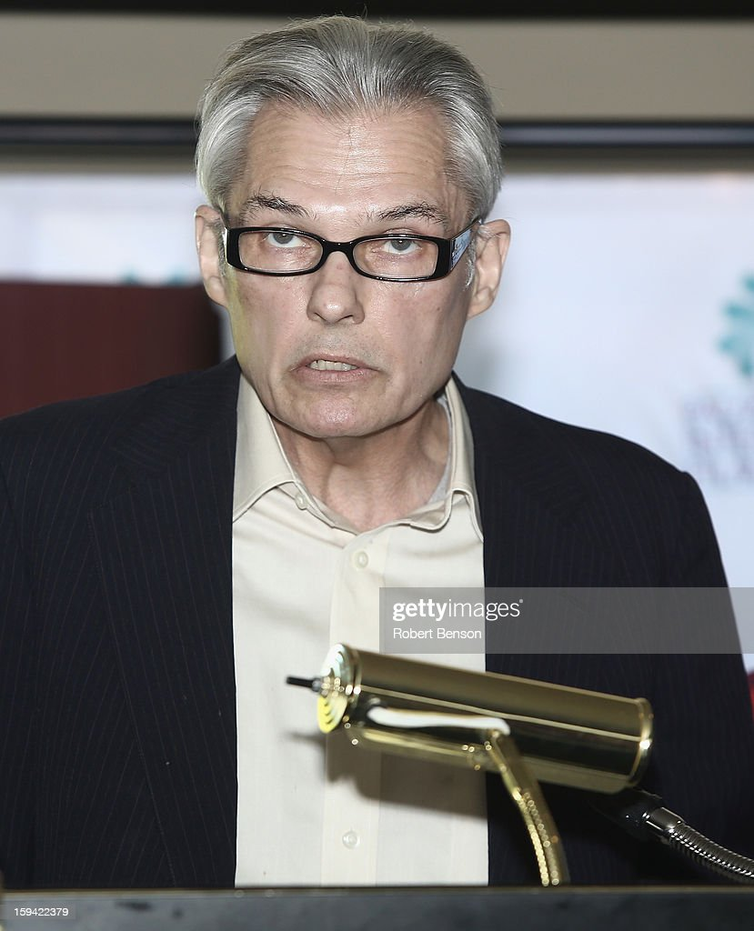 Peter Keough speaks at a Festival Awards Brunch at the 24th Annual Palm Springs International Film Festival on January 13, 2013 in Palm Springs, California.