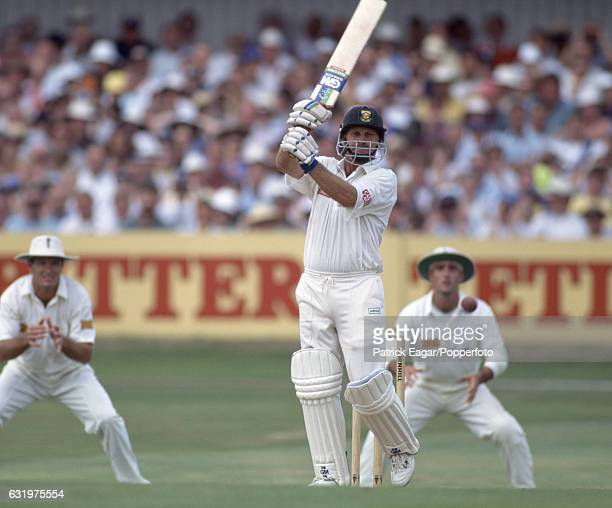 Peter Kirsten batting for South Africa during his Man of the Match innings of 104 in the 2nd Test match between England and South Africa at...