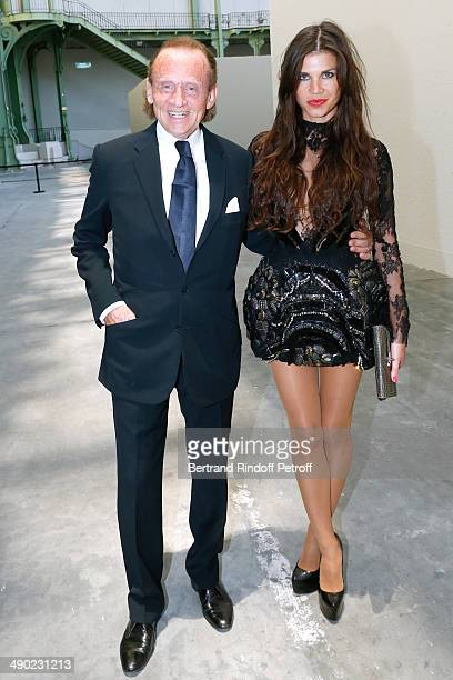 Peter Konig and his wife Leona attend 'The strange city' Exhibition by Ilya and Emilia Kabakov at Monumenta 2014 Dinner to benefit 'Naked Heart...