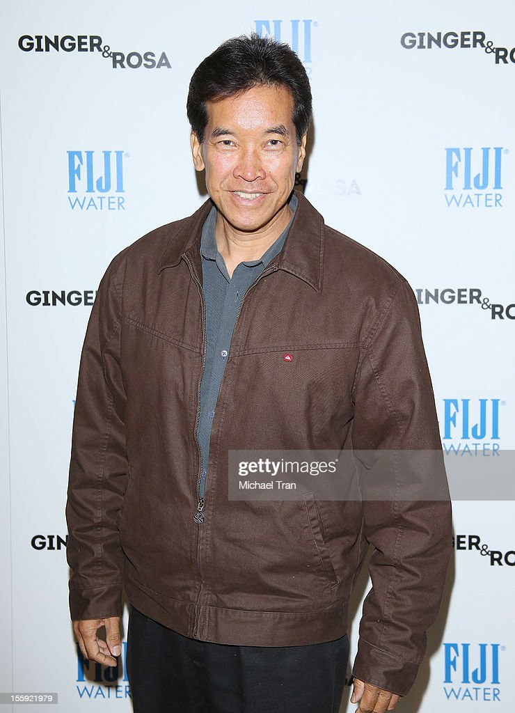 Peter Kwong arrives at the Los Angeles special screening of 'Ginger & Rosa' held at The Paley Center for Media on November 8, 2012 in Beverly Hills, California.