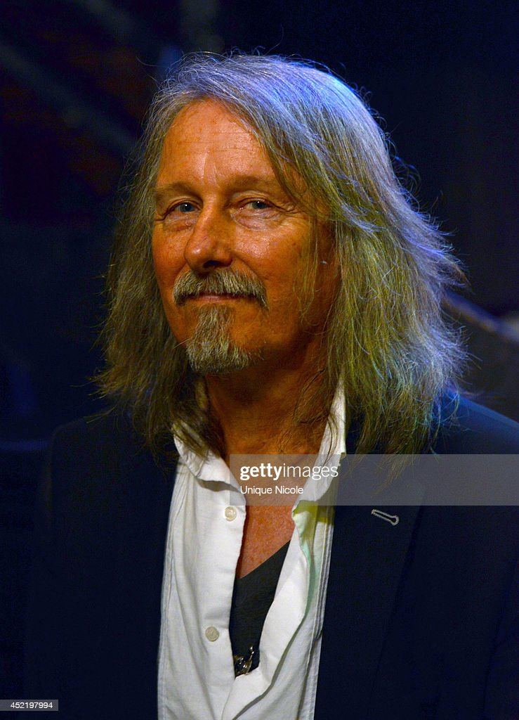 Peter Leinheiser attends special art guitar tribute to Grammy Lifetime Achievement Award recipient and Rock and Roll Hall of Famer Otis Redding at The Whiskey A Go Go on July 15, 2014 in West Hollywood, California.