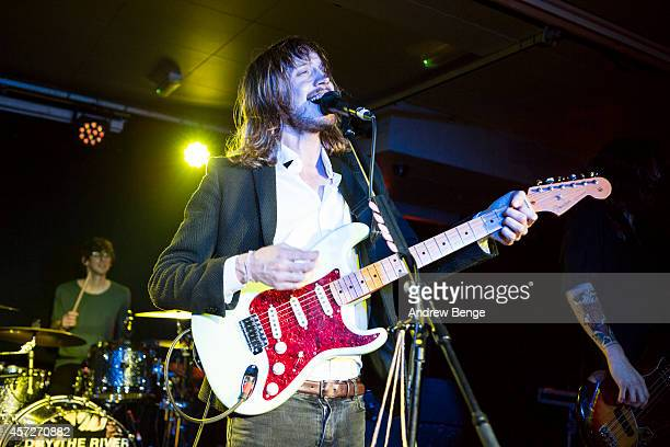 Peter Liddle of Dry The River performs on stage at The Wardrobe on October 15 2014 in Leeds United Kingdom