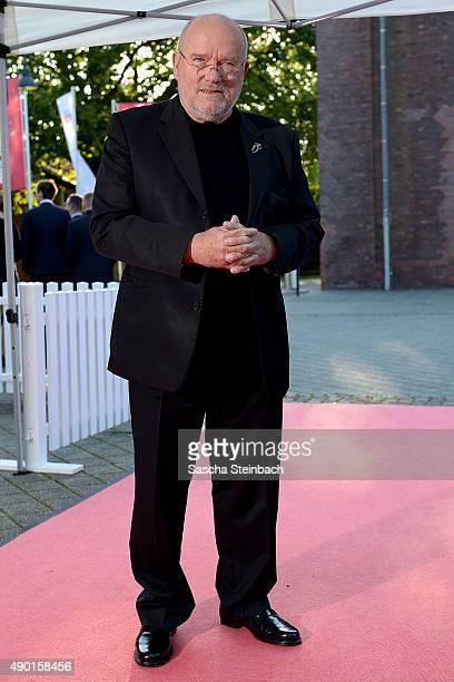 Peter Lindbergh arrives for the 'Steiger Award 2015' at colliery Hansemann on September 26 2015 in Dortmund Germany