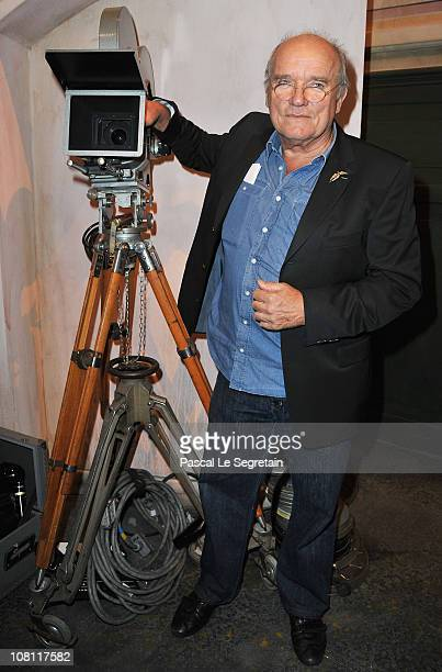 Peter Lindbergh attends the IWC launch of the Portofino watch range at the SIHH International Fine Watch makers exhibition on January 18 2011 in...