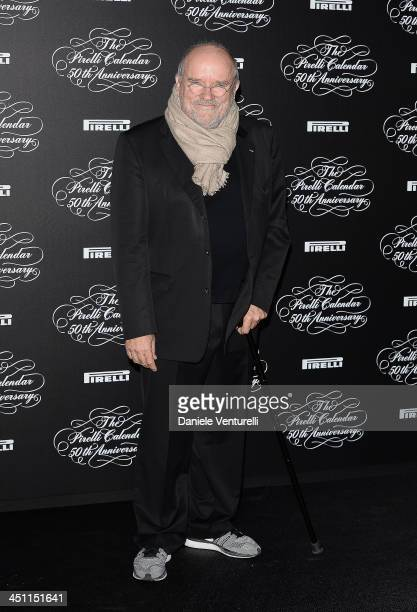 Peter Lindbergh attends the Pirelli Calendar 50th Anniversary Red Carpet on November 21 2013 in Milan Italy