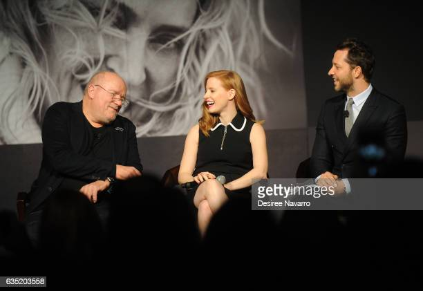 Peter Lindbergh Jessica Chastain and Derek Blasberg attend The Pirelli Calendar Presents Peter Lindbergh On Beauty at Cipriani Wall Street on...