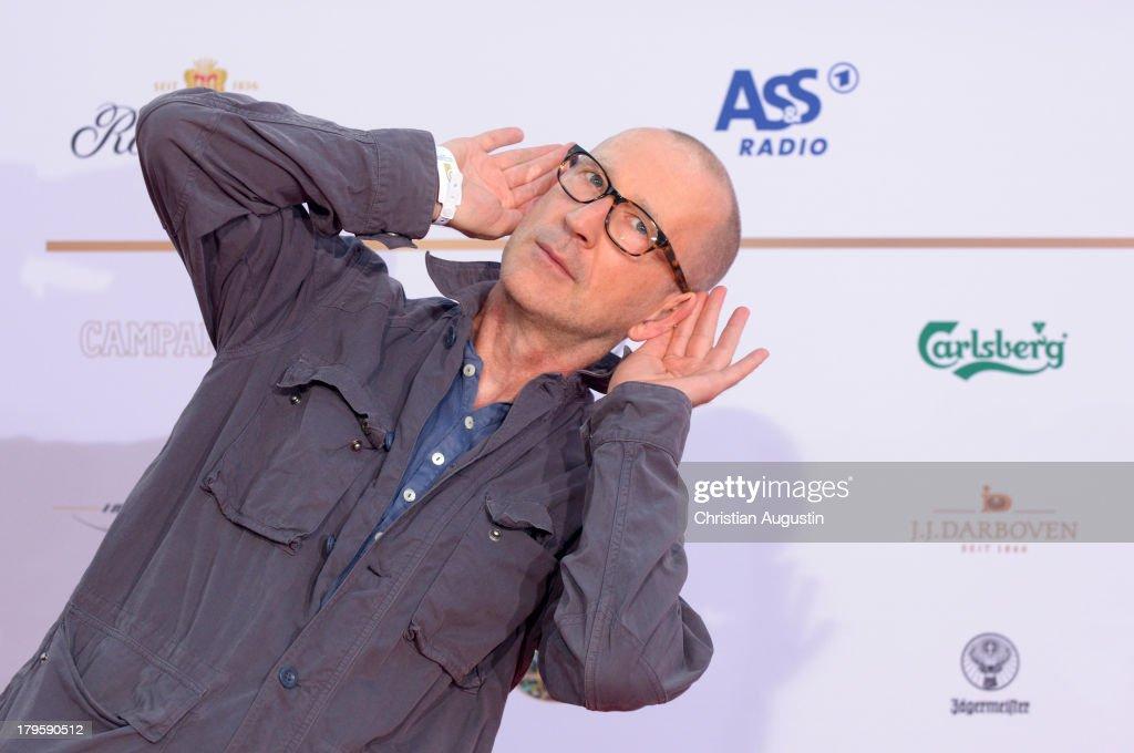 Peter Lohmeyer attends 'Deutscher Radiopreis' at Schuppen 52 on September 5, 2013 in Hamburg, Germany.