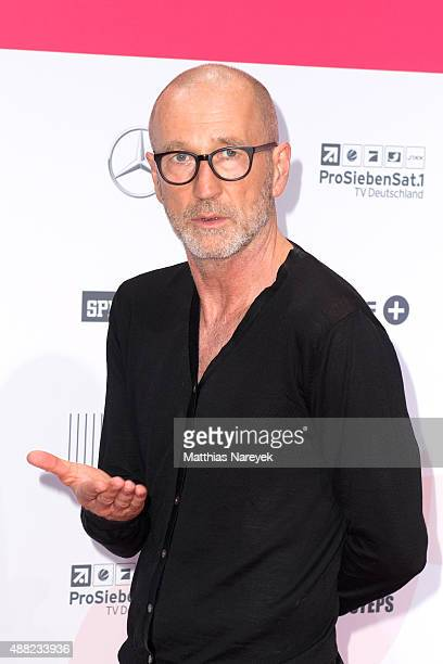 Peter Lohmeyer attends the First Steps Awards 2015 at Stage Theater on September 14 2015 in Berlin Germany