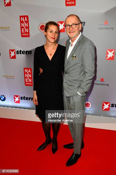 Peter Lohmeyer attends the Nannen Award 2017 on April 27 2017 in Hamburg Germany