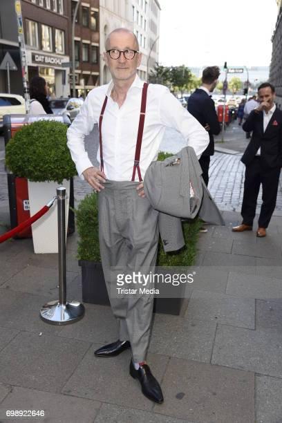 Peter Lohmeyer attends the Studio Hamburg Nachwuchspreis 2017 at Thalia Theater on June 20 2017 in Hamburg Germany
