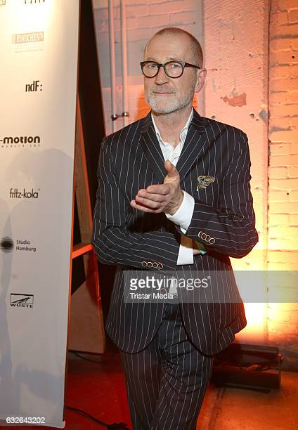Peter Lohmeyer attends the warmup party by Filmfoerderung Hamburg SchleswigHolstein at Kampnagel on January 24 2017 in Hamburg Germany